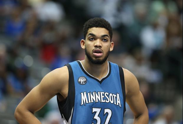 Former Kentucky Star Karl-Anthony Towns Wins NBA Rookie Of ...