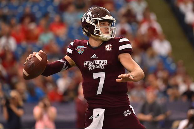 ESPN's Greg McElroy Thinks Mississippi State QB Nick Fitzgerald Is The Best QB In The SEC
